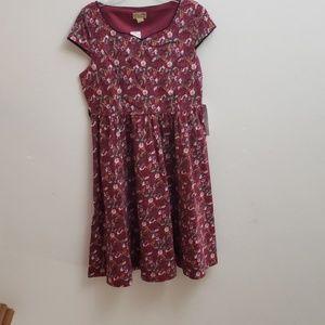NWT Lindy Bop Maisey sweetheart swing dress